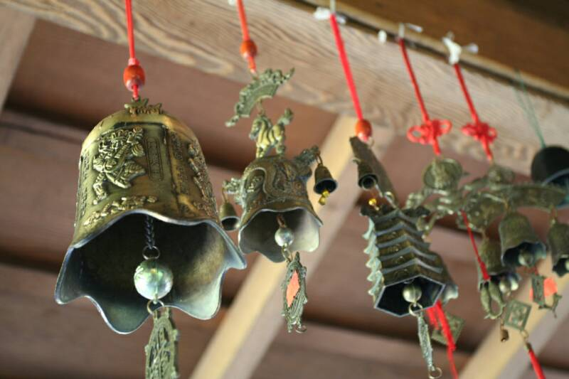 the haunting sounds of these chimes will bring one to a different world far away.